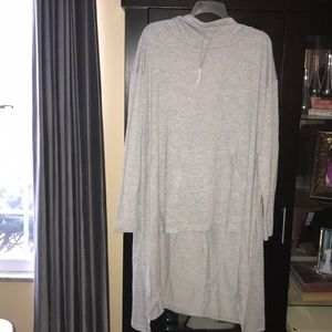NWT LIVI TERRY HOODIE LIGHTWEIGHT AND LONG